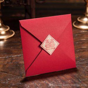 convites-do-casamento-cart-o-vermelho-do